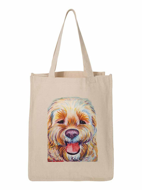 Large Dog Bag - art by Mia Rudolph D1-047