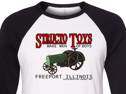 Structo Tractor Shirt with Early Design FA-065