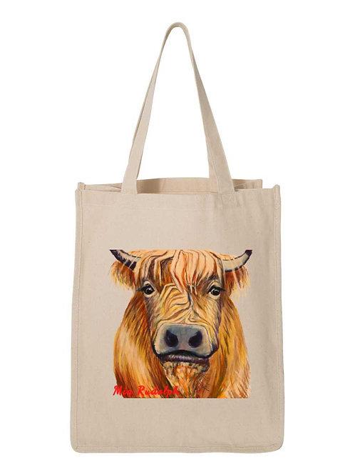 Cow Bag - Art by Mia Rudolph D1-059