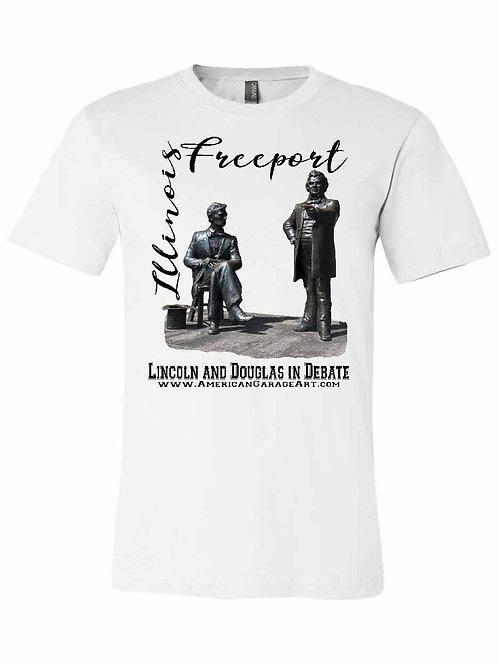 Lincoln and Douglas in Debate Shirt