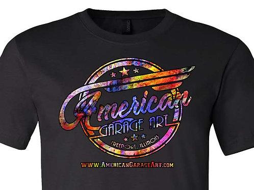 American Garage Art Collage Logo Design - AGA-038