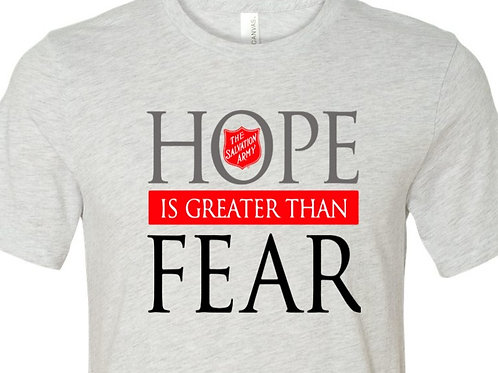 """Salvation Army """"Hope is Greater than Fear"""" - Bus-11"""