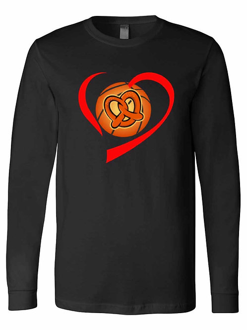 Love Pretzel Basketball Shirt S062