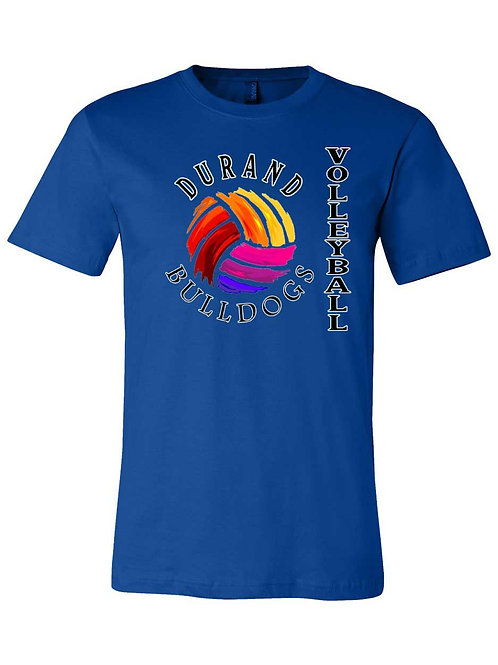 Durand Bulldogs Volleyball Shirt S052
