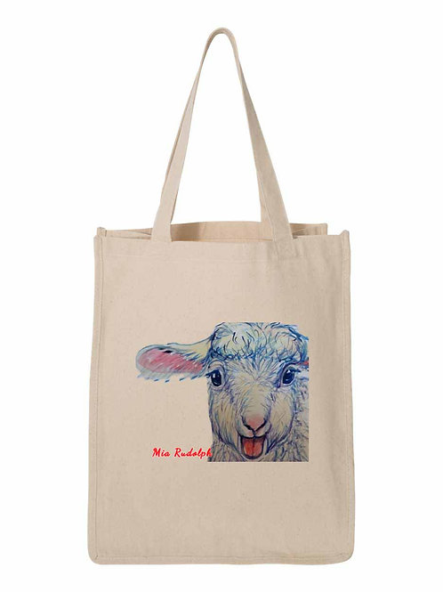 Sheep Bag- art by Mia Rudolph D1-049