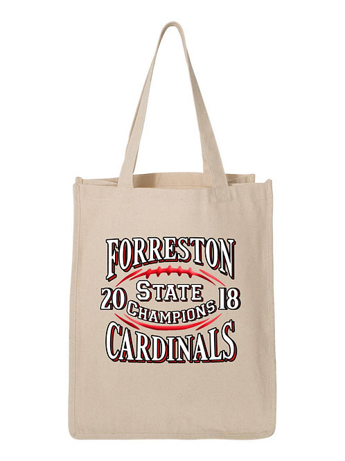 Forreston Cardinals 2018 State Champions Bags S074