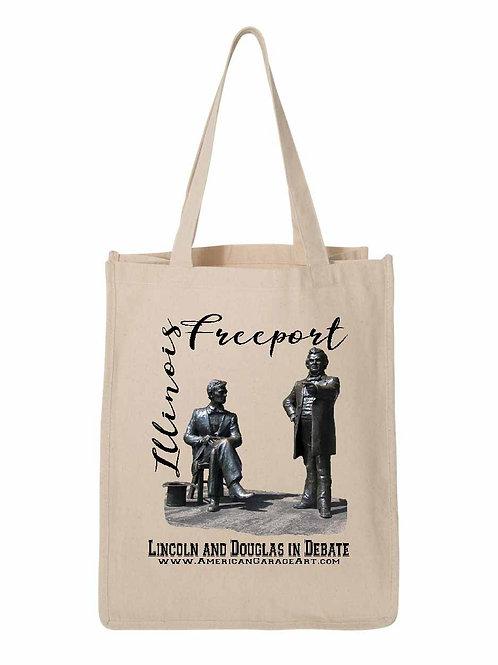 Lincoln and Douglas in Debate - Freeport, IL FA006