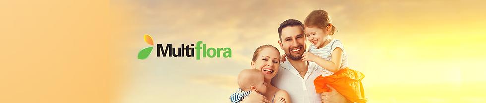 Fondo Multiflora familia unida