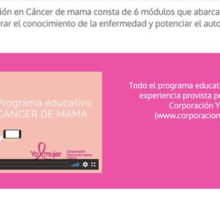 RX - Cancer de mama - Corporación yo Mujer