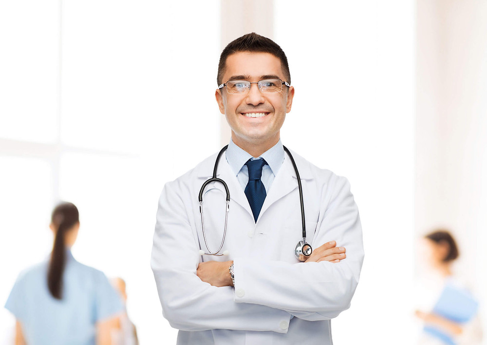 Doctor contento