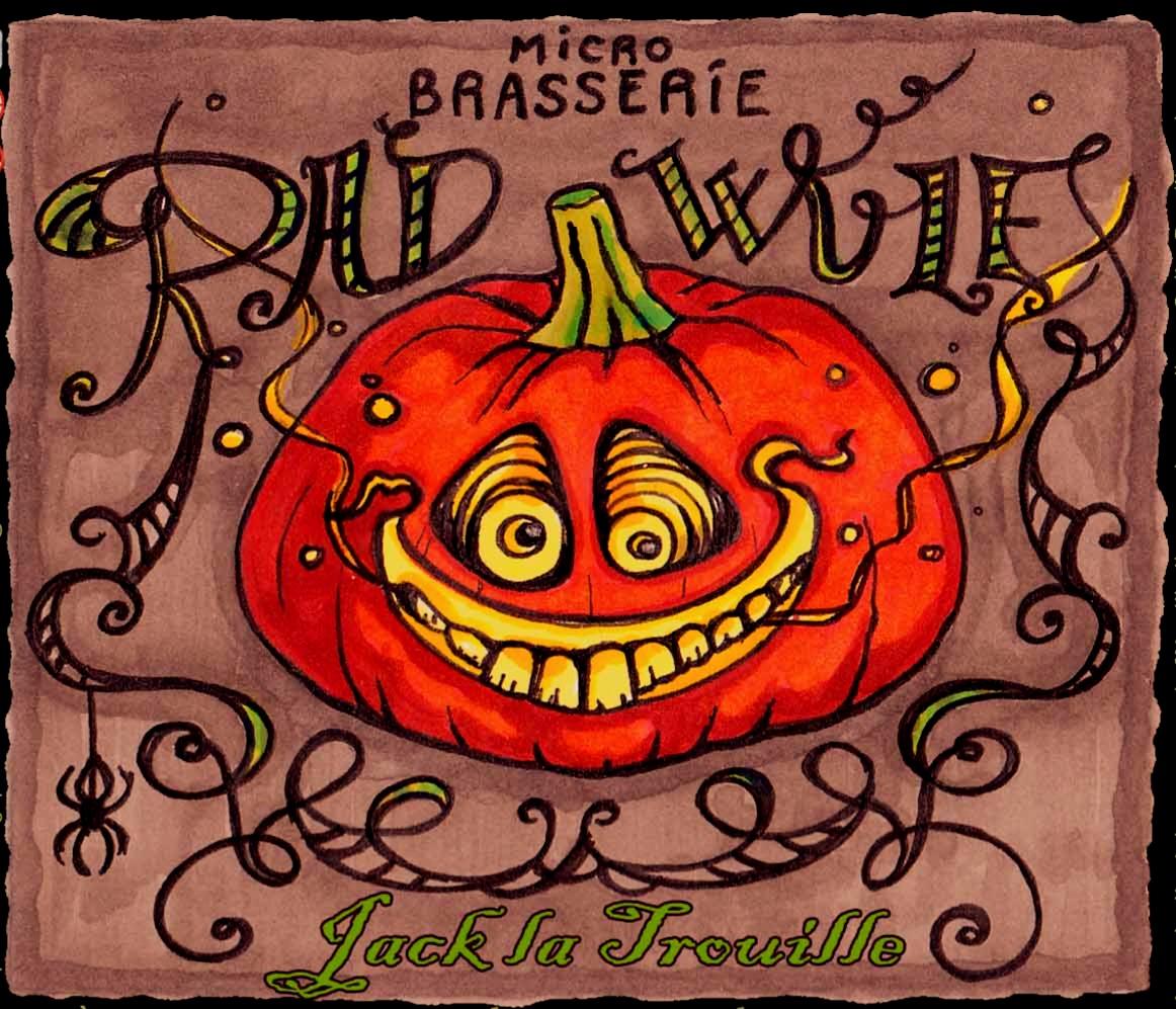 Pumpkin Beer Jack la Trouille !