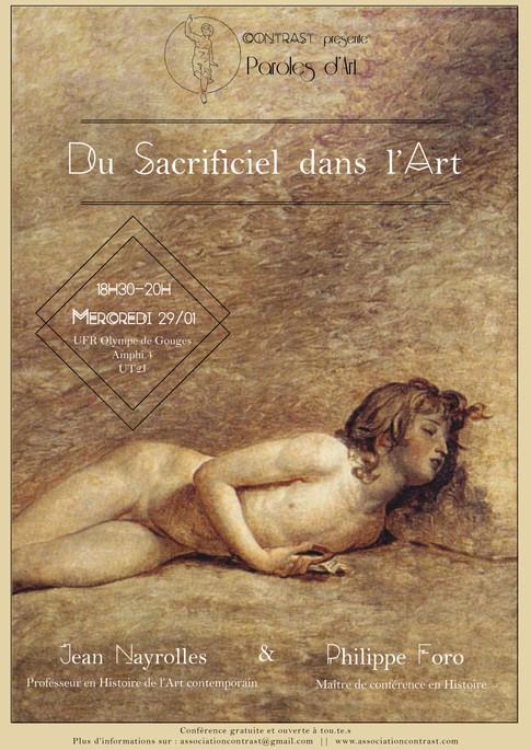 Paroles d'Art – Du sacrificiel dans l'art