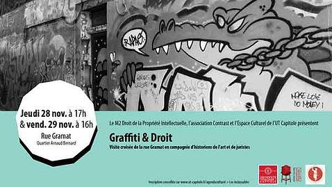 Affiche Graffiti et Droit