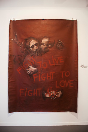 "Anna Cox, ""Fight to live"", 2020"
