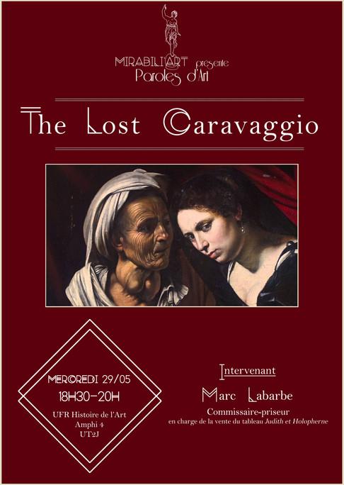 Paroles d'Art – The lost Caravaggio
