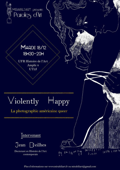 Paroles d'Art – Violently happy