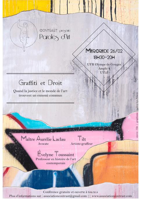 Paroles d'Art – Graffiti et droit