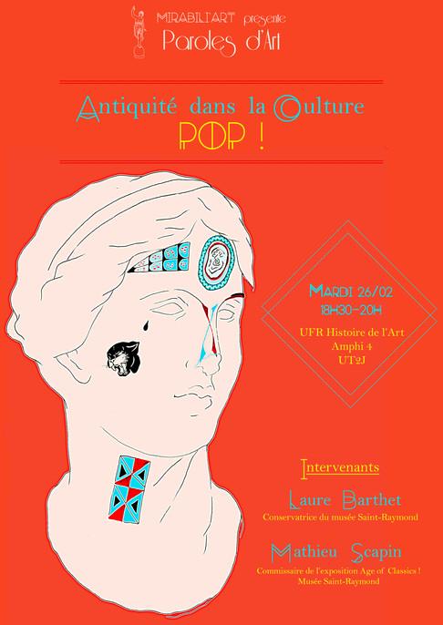 Paroles d'Art – Antiquité dans la culture Pop !