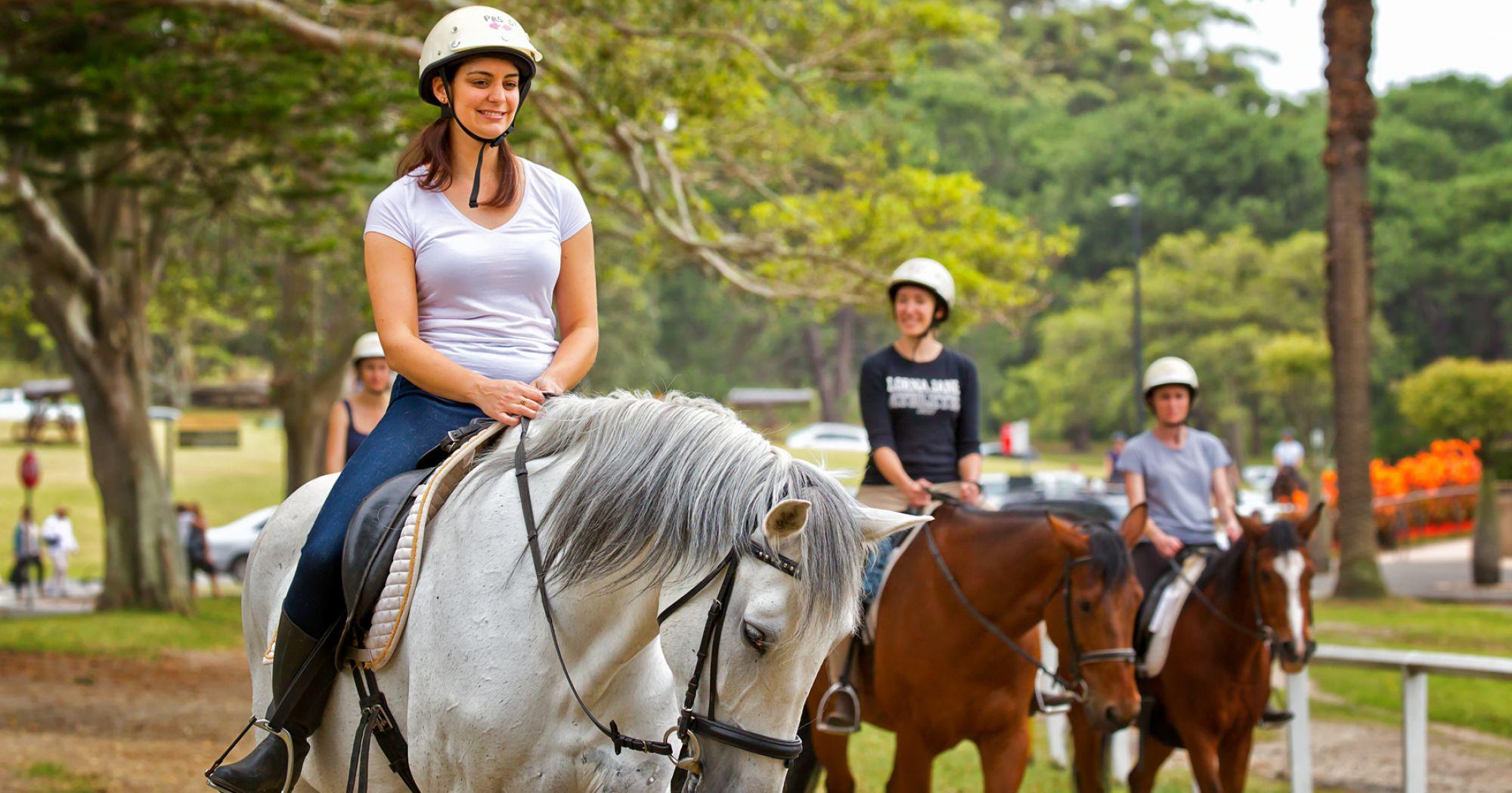 Rideundervisning V. Simone