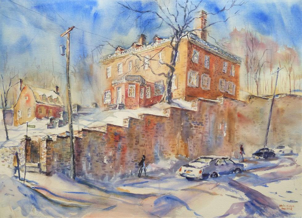 30. Schuyler Mansion, Winter Afternoon