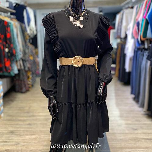 Robe Célia noire