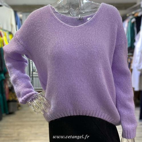 Pull Soline violet