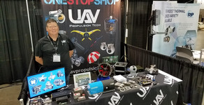 UAV Propulsion Tech brings our fuel cell systems to AUVSI Xponential 2018
