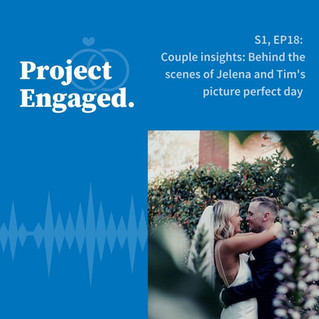 Couple insights: Behind the scenes of Jelena and Tim's picture perfect day!