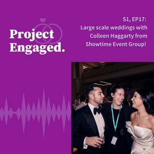 Large scale weddings with Colleen Haggarty from Showtime Event Group!