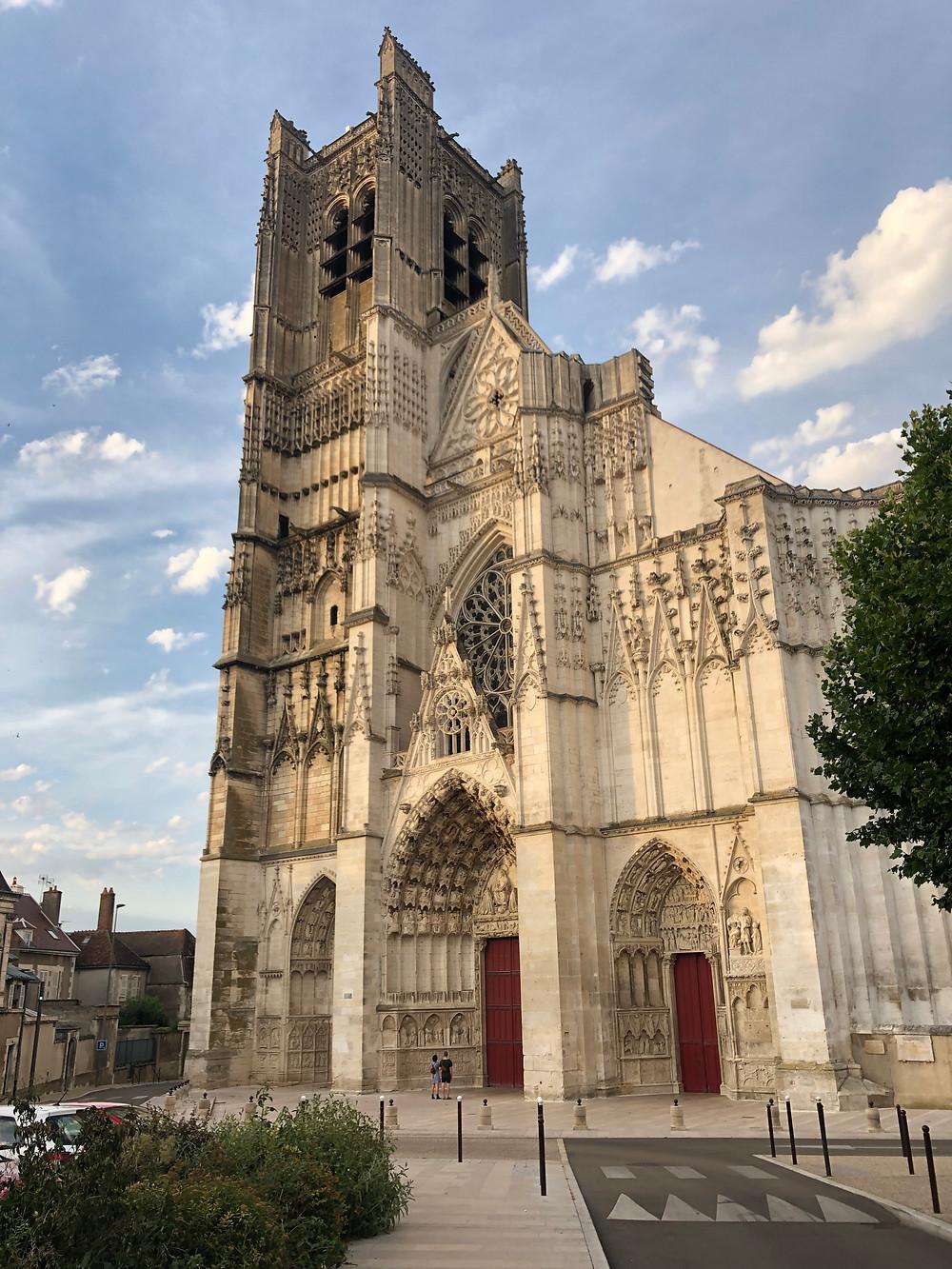 Saint-Germain Abbey in Auxerre