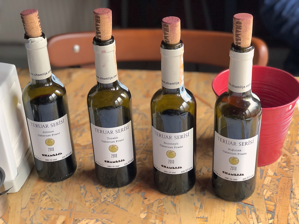 Chamlija Cabernet Franc Teruar Serisi wine tasting
