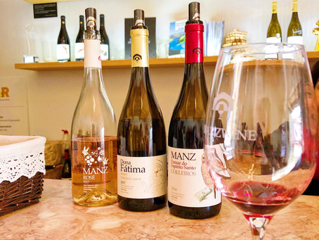 Rare grapes of Lisbon - Jampal by MANZWINE from Cheleiros
