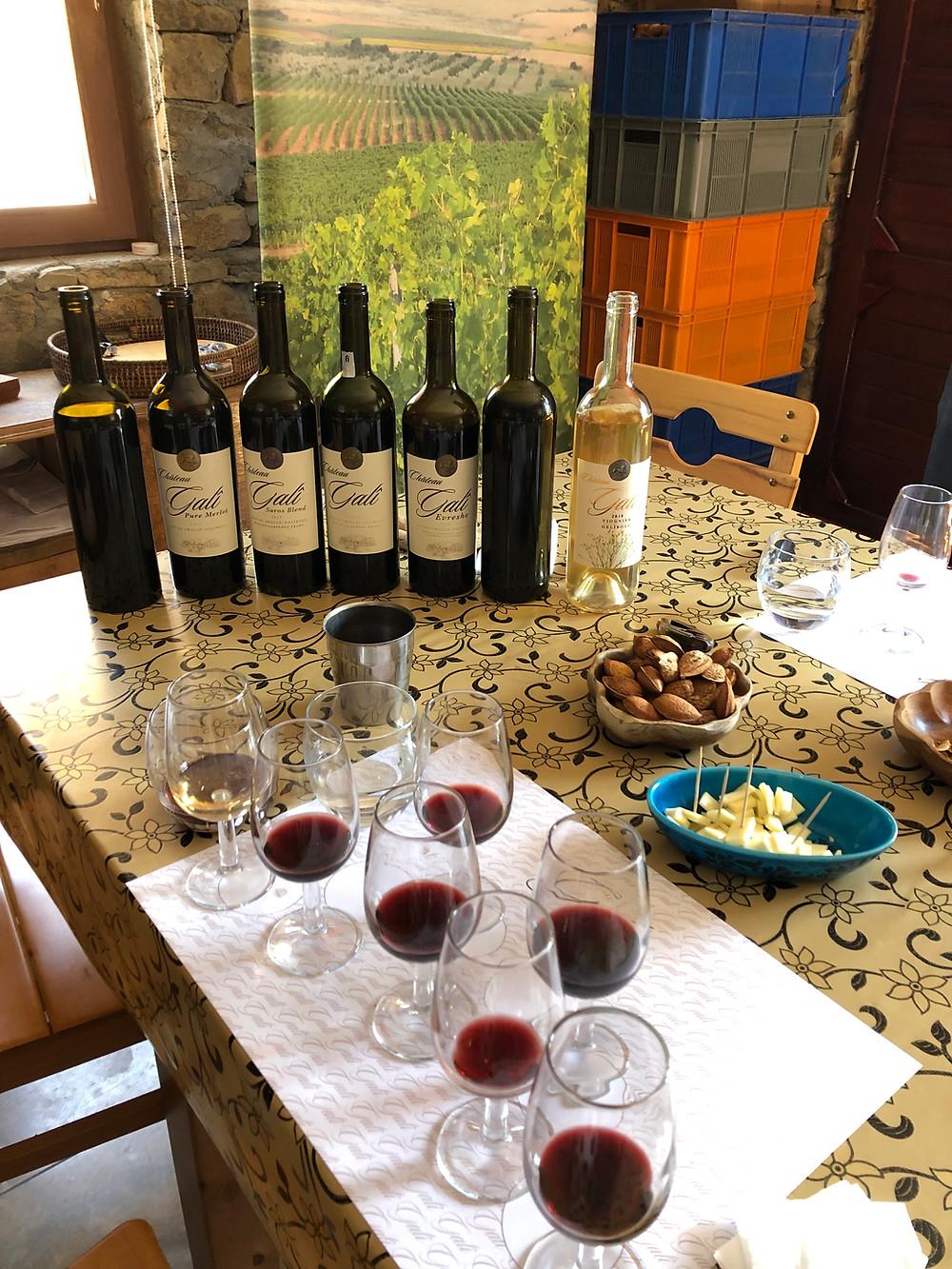 Gali Vineyards Winery Trakya Thrace Wine Route wine tasting and tour