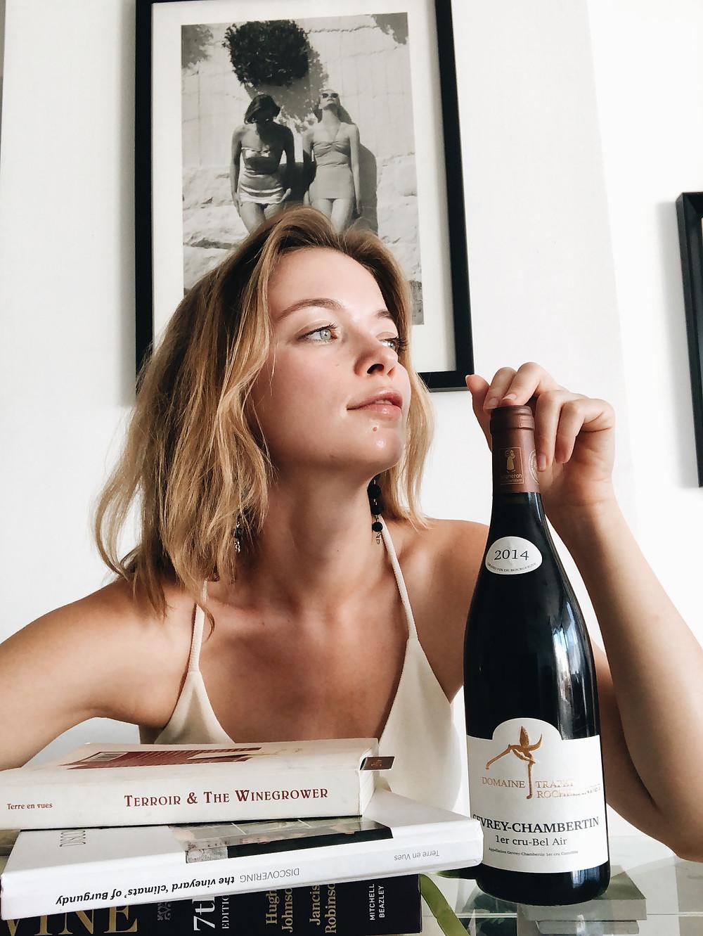 Domaine Trapet-Rochelandet 1er Cru Bel Air wine tasting of Gevrey-Chambertin wines