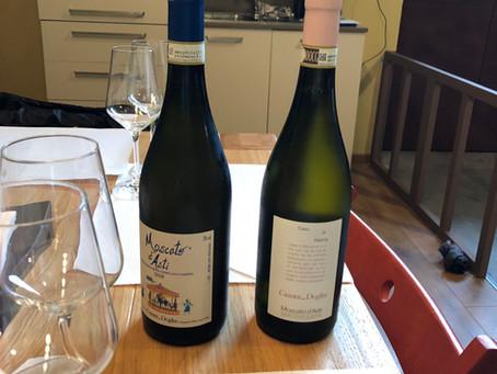 Moscato d'Asti Wine Tasting at Gianni Doglia