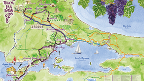 Thrace Wine Route - an immense wine region right next to Istanbul