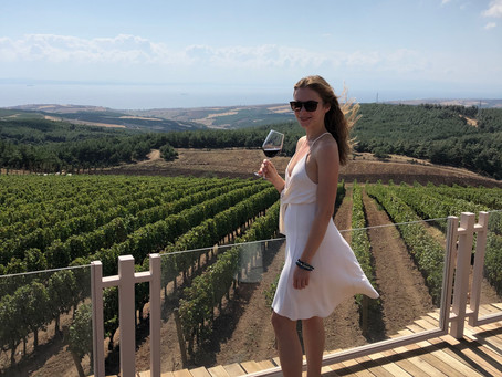 Thrace Wine Route - visiting Chateau Kalpak