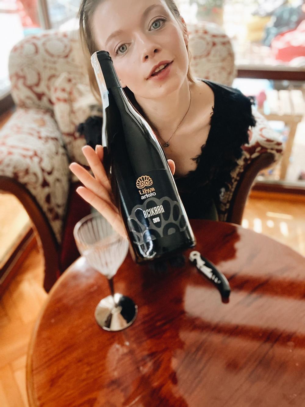 Wine tasting Likya Acikara a rare and indigenous Turkish grape variety from Antalya