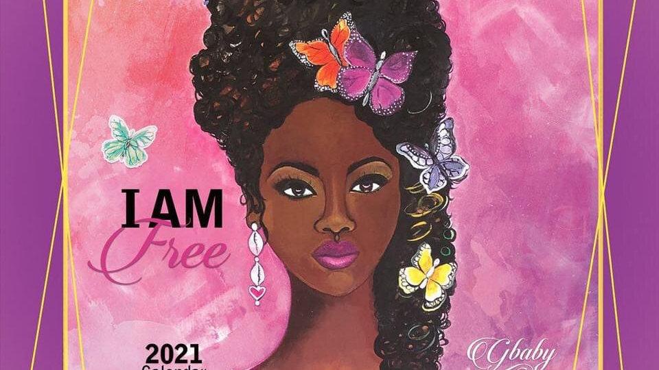 2021 I Am Free G Baby Calendar