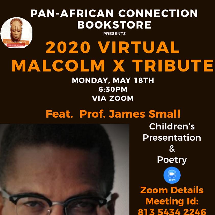 We Are Malcolm X, Malcolm X Birthday Tribute (Virtual)