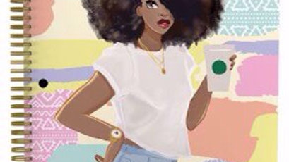 Cultural Spiral Notebooke Afro #2