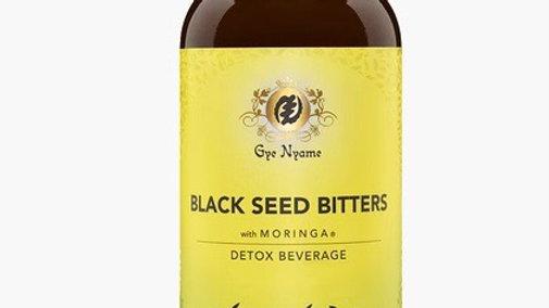 BLACK SEED BITTERS with MORINGA 16oz