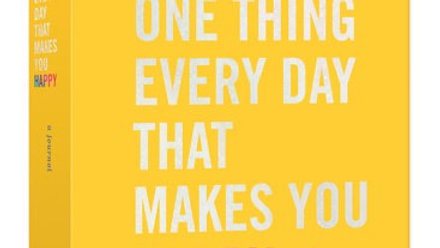 Do One Thing Every Day That Makes You Happy A JOURNAL By Robie Rogge and Dian G.