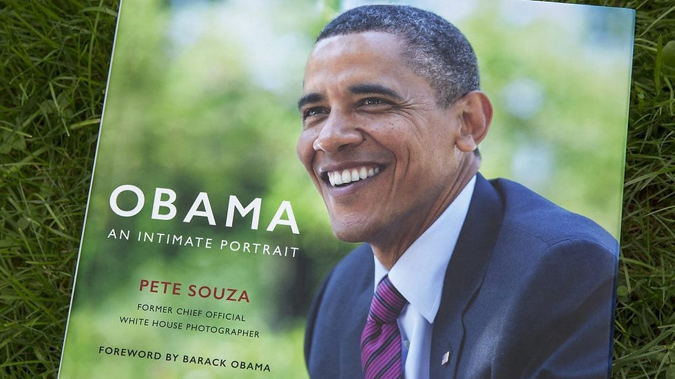 Obama An intimate Portrait by Pete Souza