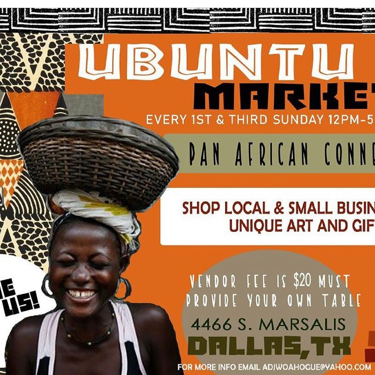 Ubuntu Market, Growing  Businesses in our Communuty; Music, Clothing , Art and Crafts and more,
