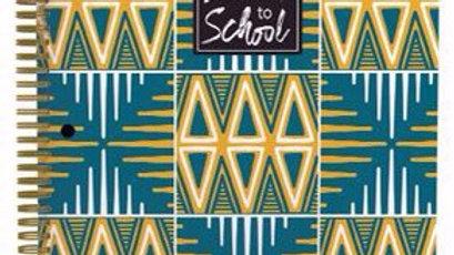 Cultural Spiral Notebook#5
