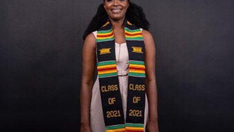 2021 Kente Graduation Stole