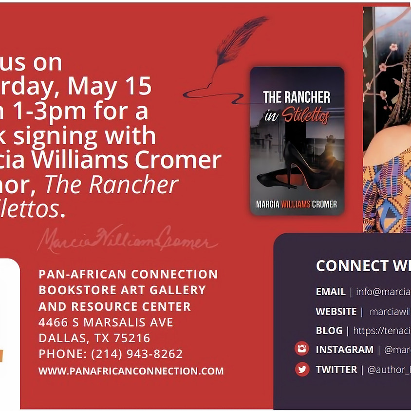 Book Signing ' The Rancher in Stilettos' , Author Marcia Williams Cromer