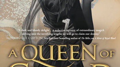 A Queen of Gilded Horns Written by  Amanda Joy