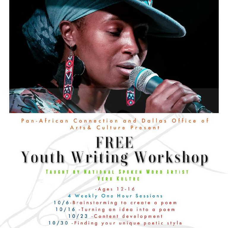 Youth Writing Class